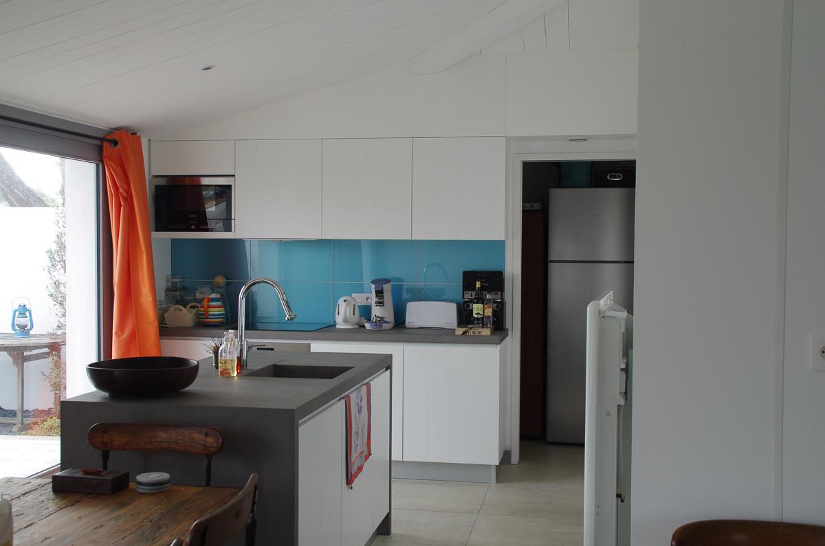 meubles-cuisine-salle-de-bain - Menuisier ile de Ré